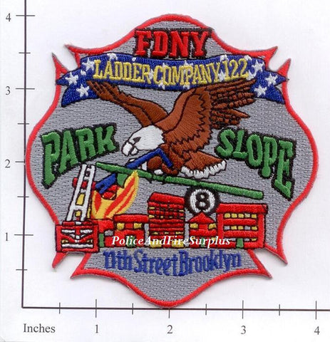 New York City Ladder 122 Fire Patch v9