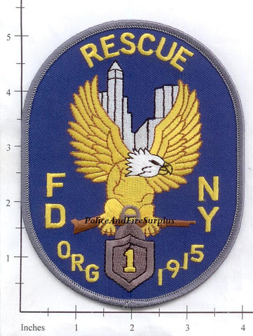 New York City Rescue 1 Fire Patch v59