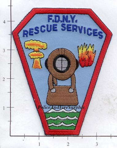 New York City Rescue Services Fire Patch v4