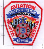 New York City Aviation Volunteer Fire Dept Co 3 Patch v5