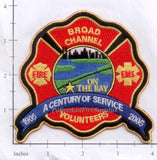 New York City Broad Channel Volunteer Fire Dept Patch v7