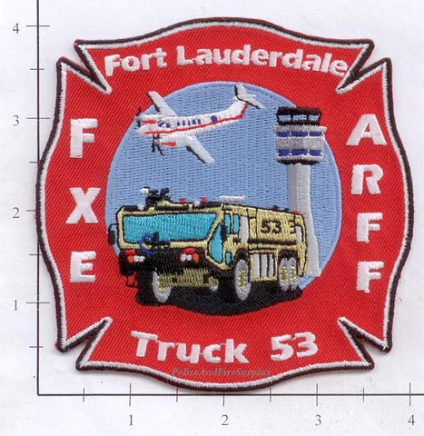Florida - Fort Lauderdale Ladder 53 Fire Dept Patch
