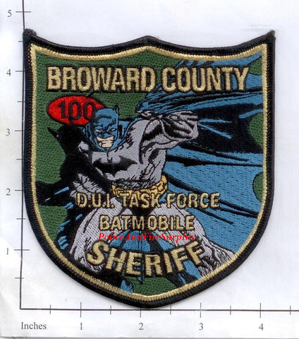 Florida - Broward County DUI Task Force Sheriff Police Dept Patch