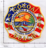 Florida - Cocoa Beach Fire Dept Patch