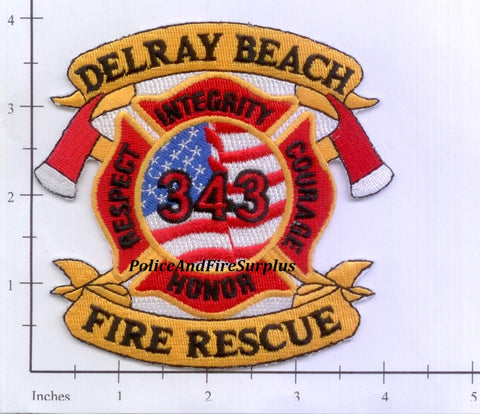 Florida - Delray Beach Fire Rescue Fire Patch