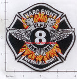 Florida - Fort Lauderdale Engine  8 Rescue 8 Fire Dept Patch