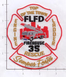 Florida - Fort Lauderdale Engine 35 Ladder 35 Rescue 35 Fire Dept Patch