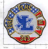Florida - Fort Lauderdale High School Fire EMS Dept Patch