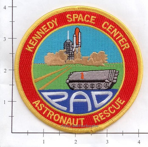 Florida - John F Kennedy Space Center Astronaut Rescue Fire Dept Patch v2