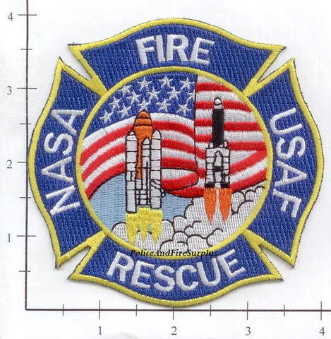 Florida - John F Kennedy Space Center Fire Dept Patch v3