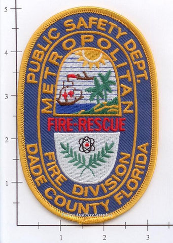 Florida - Dade County Metropolitan Fire Division Fire Rescue Patch