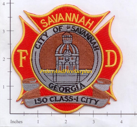 Georgia - Savannah Fire Dept Patch