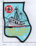 Georgia - St Mary's Public Safety Fire Division Fire Dept Patch