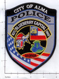 Georgia - Alma Police Dept Patch