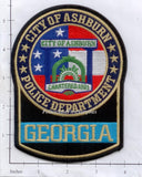 Georgia - Ashburn Police Dept Patch