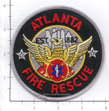 Georgia - Atlanta Fire Dept Patch