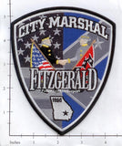 Georgia - Fitzgerald City Marshal Police Dept Patch