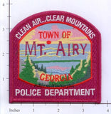 Georgia - Mount Airy Police Patch