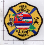 Hawaii - US Army Fire Rescue Dept Patch