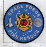 IAFF - Space Force Fire Rescue Fire Dept Patch