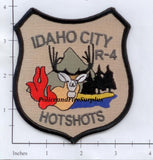 Idaho - Idaho City Hotshots R-4 Fire Dept Patch