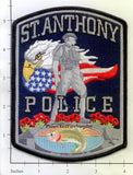 Idaho -  St Anthony Police Dept Patch