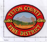 Idaho - Teton Fire District Patch
