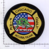 Illinois - Chicago Scuba Team Fire Dept Patch