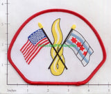 Illinois - Chicago  Fire Dept Patch v8 - Flags