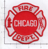 Illinois - Chicago  Fire Dept Patch v3 - Red