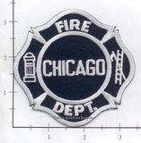 Illinois - Chicago  Fire Dept Patch v4 - Blue