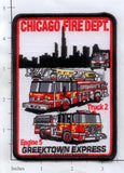 Illinois - Chicago Engine   5 Truck 2 Fire Dept Patch
