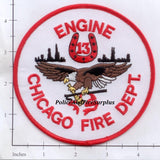 Illinois - Chicago Engine  13 Fire Dept Patch