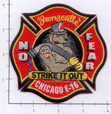 Illinois - Chicago Engine  16 Fire Dept Patch