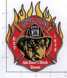 Illinois - Chicago Engine  18 Fire Dept Patch