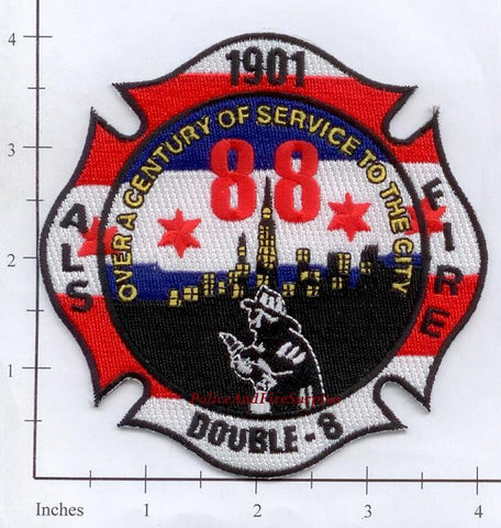 Illinois - Chicago Engine  88 Fire Dept Patch
