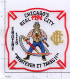 Illinois - Chicago Engine 116 Fire Dept Patch v2
