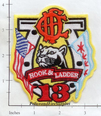 Illinois - Chicago Ladder 13 Fire Dept Patch