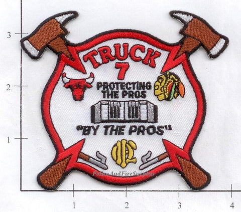 Illinois - Chicago Ladder  7 Fire Dept Patch v2