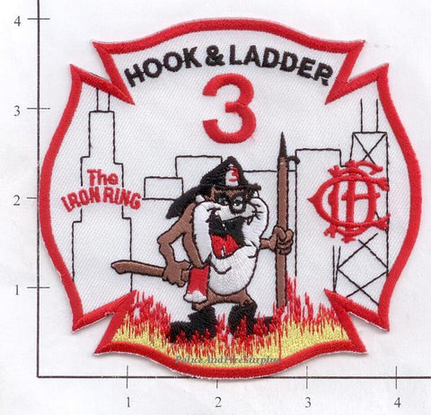 Illinois - Chicago Ladder  3 Fire Dept Patch v1