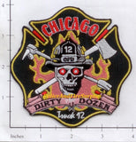 Illinois - Chicago Ladder 12 Fire Dept Patch