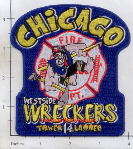 Illinois - Chicago Ladder 14 Fire Dept Patch