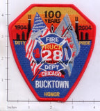 Illinois - Chicago Ladder 28 Fire Dept Patch