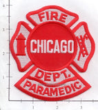 Illinois - Chicago  Fire Dept Paramedic Patch v1