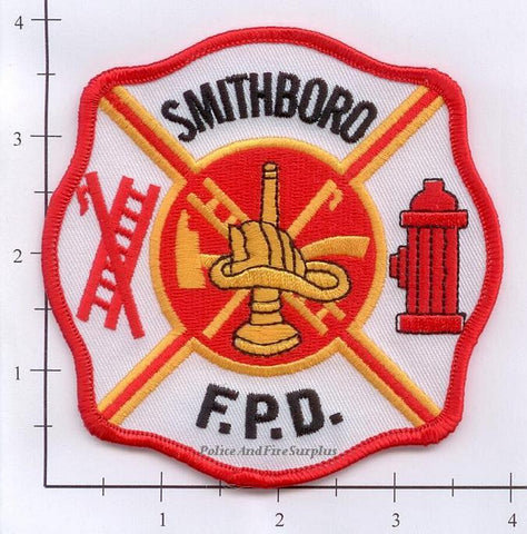 Illinois - Smithboro Fire Protection District Fire Dept Patch