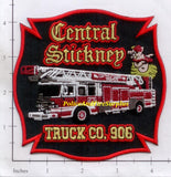 Illinois - Central Stickney Truck Co 906 Fire Dept Patch v1