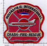 Indiana - Indianapolis International Airport Crash Fire Rescue Fire Dept Patch