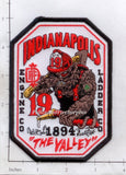 Indiana - Indianapolis Station 19 Fire Dept Patch