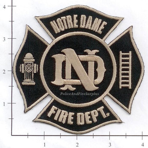 Indiana - Notre Dame Fire Dept Patch v2