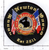 Iowa - Newton Honor Guard Fire Dept Patch